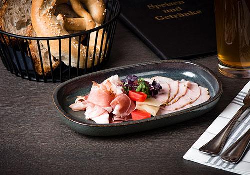 Die Wirtschaft Gastronomie Nürnberg - Gudzerla Schinken