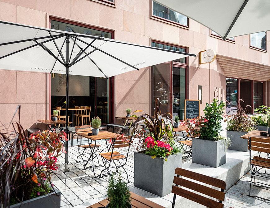 Die Wirtschaft Gastronomie Nürnberg - Biergarten